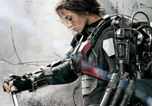 Emily Blunt As Rita Vrataski In Edge Of Tomorrow Wallpaper