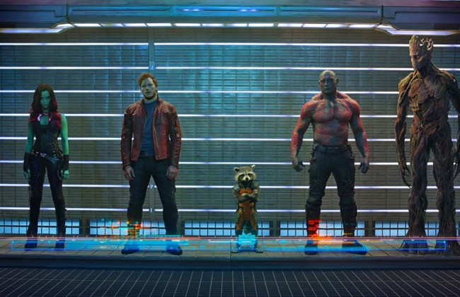 Guardians of the Galaxy, August 8